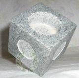 Suporte para velas, pedra a pedra, do granito