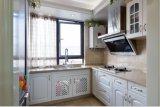 2017新しいデザイン白い純木の食器棚の家具Yb-1706004