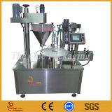 Polvo rotatorio que llena la máquina/el curry, capsulador de papel de /Capping del llenador del polvo