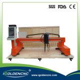 Plasma do CNC do pórtico do controlador de Starfire e máquina de estaca da flama