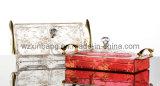 Bac de bonbons en acrylique avec couvercle et poignée en métal (V020)