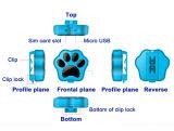 O perseguidor esperto do GPS do animal de estimação de WiFi com IP66 Waterproof o cão e o gato Anti-Perdidos
