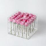 Cadre préservé acrylique de fleur personnalisé par vente d'usine
