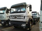 중국 대형 트럭 380HP 트랙터 트럭 Beiben 트랙터 헤드