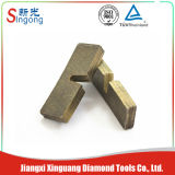 Het Goedkope Zandsteen van China/het Marmeren Segment van de Bladen van de Zaag van het Graniet van de Diamant
