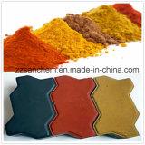 Pintura Thermochromic pigmentos de óxido de hierro rojo 110 130 190