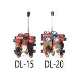 Клапан сброса установки управления по направлению клапана катышкы DL15 установленный гидровлический