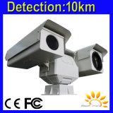 Камера слежения восходящего потока теплого воздуха наблюдения установленная автомобилем PTZ граници
