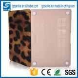 Caja dura de la computadora portátil del shell de la PC del leopardo para la caja de MacBook Pro 13 pulgadas