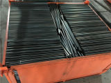 Q235 Estructural ERW Tubo redondo negro