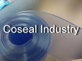 Голубой матовый пластиковый лист из ПВХ с ЕС RoHS стойки стабилизатора поперечной устойчивости