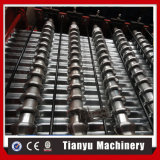 Perfil de acero galvanizado de rodillo máquina de formación de techos de metal