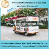 Aangepaste die Jiejing in de Vrachtwagen van het Voedsel van China Mobile en de Aanhangwagen van het Voedsel wordt gemaakt