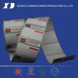 Collant de papier thermosensible d'étiquette de papier thermosensible