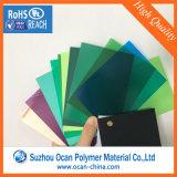 Feuille en plastique transparent mince, film rigide en PVC coloré, feuille en PVC pour stationnaire