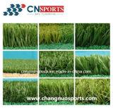 W Vorm mengde Kunstmatig Gras, Synthetisch Kunstmatig Gras voor het Modelleren van Tuin