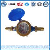 Medidor de agua fría de tipo seco Jet simple