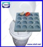 Muffa RTV-2 che fa la gomma di silicone (latta catalizzata curata)