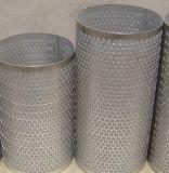 Doek met 3 lagen van de Draad van het roestvrij staal de Gesinterde/Geperforeerd Gesinterd Netwerk voor Filter