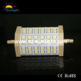 3 lampada della garanzia 10W R7s LED di anno con CE RoHS