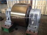 Rouleau malléable de support de fer pour le four rotatoire