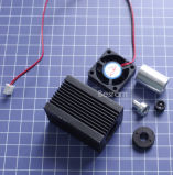 Ventilatore che raffredda l'alloggiamento del supporto di laser a semiconduttore
