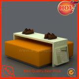 Crémaillère d'étalage en bois de Tableau d'étalage pour le système de chaussures