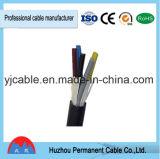 Câble de commande multi de faisceau de câble de commande de PVC de câble électrique de Kvv 3X0.75mm2 5X1. mm2 7X 1.5mm2