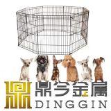 Geschweißter Draht-HundePlaypen mit 8 Panels