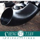 Rostfester Rohrfitting-Kohlenstoffstahl-Krümmer-Buttweld schwarzer Stahlkrümmer