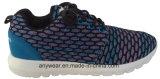 Sports Shoes du chevreau avec Knitted Upper Woven Footwear (415-9315)