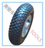 Roue en caoutchouc pneumatique gris 200X50 pour chariot de golf
