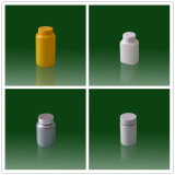 Bottiglia di plastica della medicina dell'HDPE vuoto per la pillola della capsula e la polvere della proteina