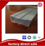 Perfil anodizado da canaleta da construção extrusão de alumínio para o indicador e a porta