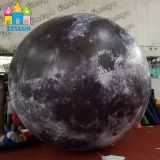Finego dekorativer Ballon-Helium-Luft-Mond Mars des Planeten-LED aufblasbarer sich hin- und herbewegender riesiger von der Fabrik