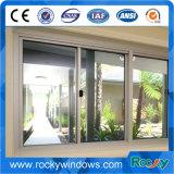 Fácil de operar a janela de correr de vidro de alumínio