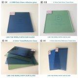 glace r3fléchissante vert-foncé verte de 10mm F avec du ce et ISO9001 pour le guichet en verre