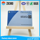 Tarjeta de miembro plástica del PVC del deslizador impreso