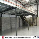 Prateleira do aço do indicador de assoalho do mezanino do armazenamento do armazém