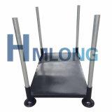 Hochleistungslager, das abnehmbare Stahlzahnstange mit Pfosten stapelt