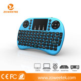 Heiße Rii MiniI8+ Wireleess russische Tastatur mit Berührungsfläche