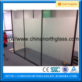 Bereift, Tinted oder Clear 6mm Shower Screen Tempered Glass