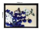 Encantador Plantas abstractos pintura a óleo para a decoração do quarto de hotel