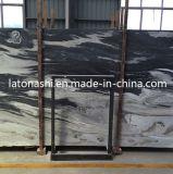 Polished естественный темный сляб мрамора Onyx нефрита для Countertop, Backplash
