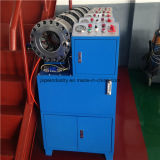Automatic Ce ISO 1 / 8-2 '' 4sp Steel Wire Braged Hose Crimping Machine