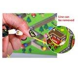 Le trafic de l'alphabet en bois Jeu de balle magnétique Star Labyrinthe Casse-tête de l'éducation des enfants