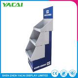 Speicher-Fußboden-Sicherheits-Pappausstellung-Papier-Ausstellungsstand für Lampen
