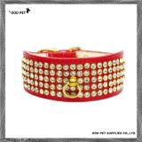 贅沢なBlingのラインストーンのドッグカラー、ダイヤモンドの昇進ペット製品(SPC7112-1)