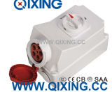 Migliore zoccolo blu di vendita dell'interruttore di sicurezza di IEC di 32A 3p con l'interruttore