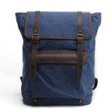 Fornitore BRITANNICO all'ingrosso della Cina del sacchetto di spalla dell'allievo del cuoio del pacchetto di giorno della tela di canapa di disegno (RS-2200-P)